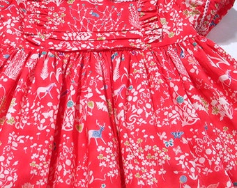 """Liberty """"Yoshie"""" Frilly Dress"""