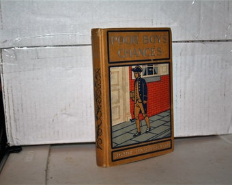 """ON SALE!  Vintage 1900 """"Poor Boys' Chances"""" John Habberton!  Hardcover!  Not Library Copy!  RARE / Hard to Find!!"""