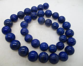 WOW Stunning  100% Natural No Dye Lapis Lazuli  hand polished  Beads Afghanistan L23