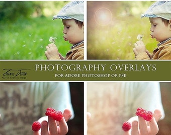ON SALE Photography Sun Flare Overlays, Haze Textures , Photo Overlays, Photography Textures ,INSTANT Download