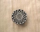 Round Geometric Mandala Printing Stamp