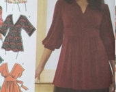 UNCUT and FF Pattern Pieces Simplicity Sewing Pattern Sizes 18W thru 24W Khaliah Ali Collection Knit and Woven Tops