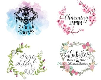 Custom Logo Design, logo design, photography logo, shop icon