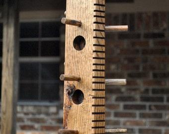 red oak suet bird feeder