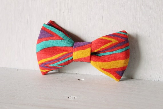 Dog bow tie >> Aztec bow with elastic >> Pet gift