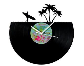 Vinyl clock surf
