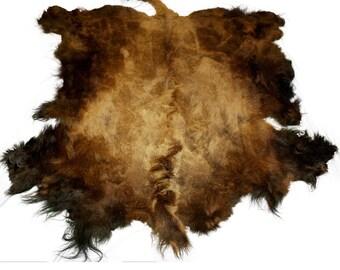 Glacier Wear Select Buffalo Bison Robe Hide Rug #0006