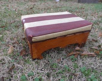 Handmade Stool Vintage Wooden Stool Small Stool