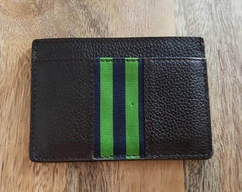 Banana Republic Brown Leather Mens ID Wallet