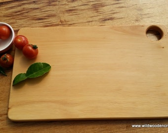 Bespoke Huon Pine Serving Platter, Cheese board, bread board, kitchen board.