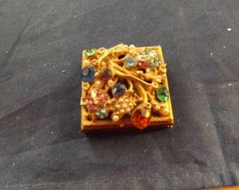 Vintage Mini Pocket Photo Case Purse Size