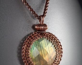 Gallery Wire Pendant Tutorial