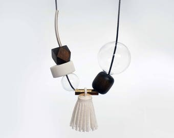 Mixed Series - Abby, Statement Necklace