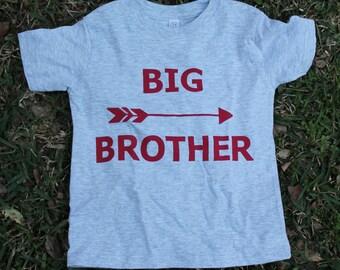 Kids  Big Brother Screenprinted Shirt