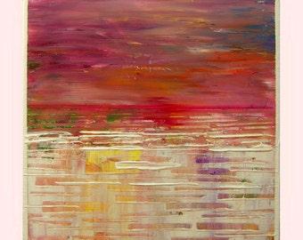 "acrylic painting,modern wall art, beautiful colors Modern wall art  by M.Schöneberg ""Autumn inspiration"" 12x12x 0,75"