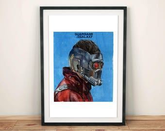 Star Lord / A3 Size / Limited Edition Giclee Print