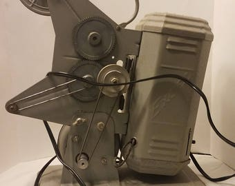 Vintage Antique Excel Movie Products Movie Projector Reel to Reel 9mm Good Condition Chicago Illinois Good Deal