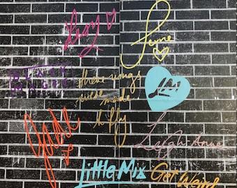 Little Mix Vinyl Decals | Stickers