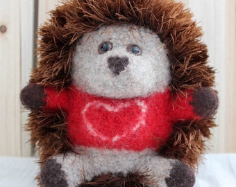 Sweetheart Plush Hedgehog