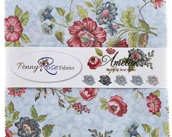 """Amelia by Penny Rose Studio for Penny Rose Designs~10"""" Stacker"""