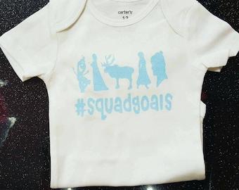 Frozen Squad Goals