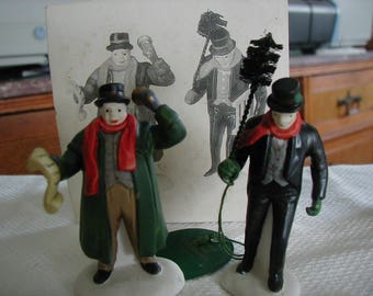 "Dept. 56 ""Town Crier"" & ""Chimney Sweep""  Item # 5569-7"