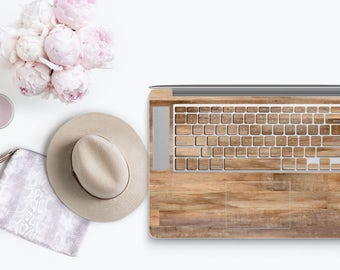 Untreated Wood - KeyCal Skin Decal & Ultra Thin Keyboard Protector for Macbook for MacBook Pro Retina and Macbook Air , New Macbook Pro 2016