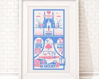Nunhead print / London illustration