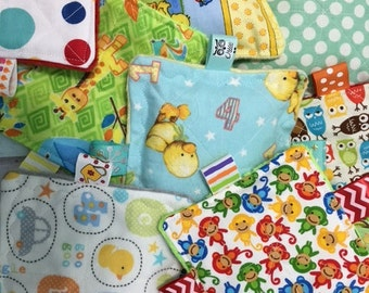 TOY SALE, tons of crinkle toy samples for sale, baby boy toys, baby girl toys, choose the amount,  toys normally cost from 6.99 -12.99