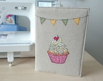 PDF Pattern for Cupcake Notebook Cover