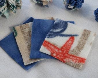 Sugar Glider Fleece Square Bonding Blankets