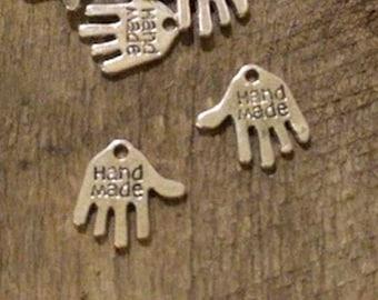 Hand Shaped Hand Made Charm