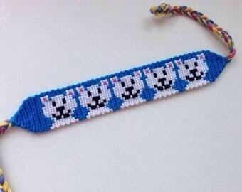 Polar Bear Friendship Bracelet