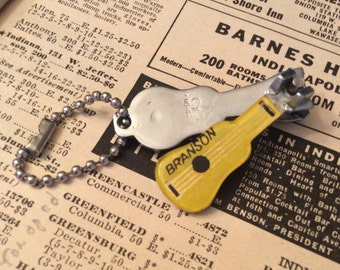 Vintage Branson Nail Clipper with Key Chain Attachment