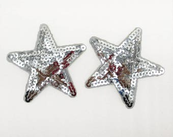2pc star sequin patches | hot selling
