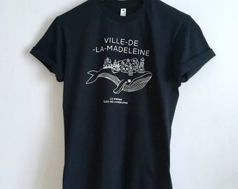 T-Shirt Unisex city-DE-LA-Madeleine