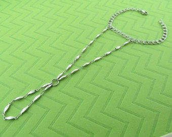 stainless steel hand chain bracelet