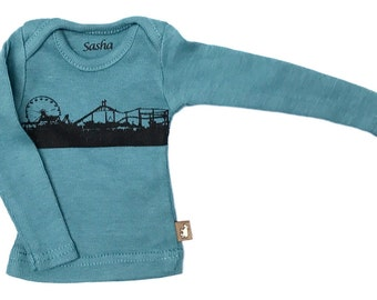 Sasha doll and MSD L/S Tee - Indigo pier