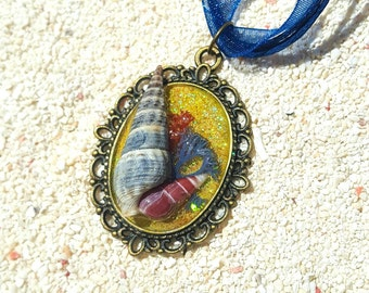 "Mermaid's Treasure Necklace ""Naia"""