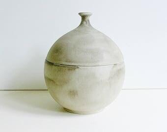"Large Ceramano ""Antiqua"" ceramic lidded jar/box, Germany, WGP"