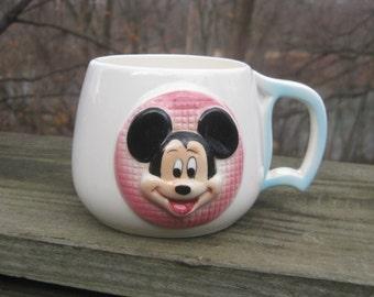 Disneyland Mickey Mouse Mug 1960s