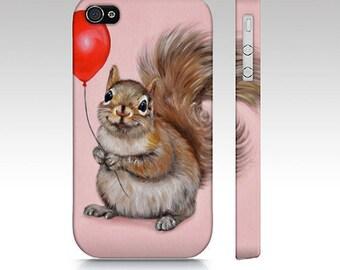 Squirrel phone case, squirrel case, squirrel mobile case, animal tough case, iPhone case, Samsung Galaxy case, animal case, squirrel case