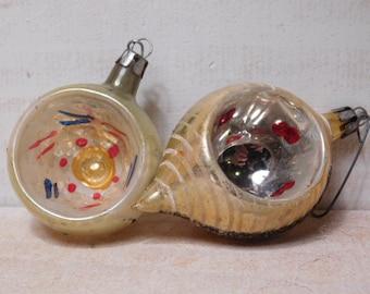 SALE - Vintage 1950's Christmas Ornaments