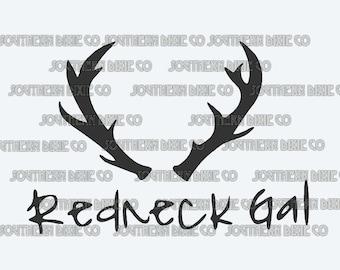 Redneck Gal decal!