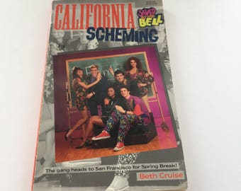Saved By The Bell California Scheming Book