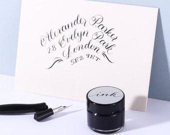 Iron gall ink modern calligraphy ink dip pen ink