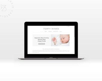 Branding Design and eCommerce website - Wordpress with Woocommerce Design and Development