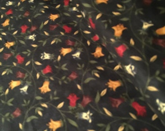 Primitive Fabric Pheasant Hill by Kansas Troubles Quilters for Moda pattern 9381 - 12 Pond Navy R187 100% High Quality Cotton Yardage