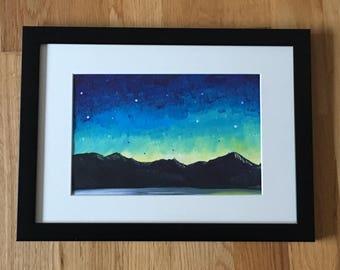 Highland Starlight Painting.
