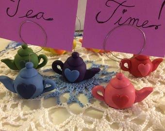 Teapot Placecard Holder